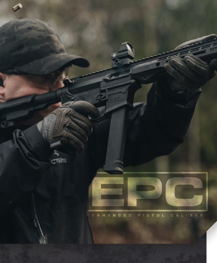 Enhanced Pistol Caliber Mobile