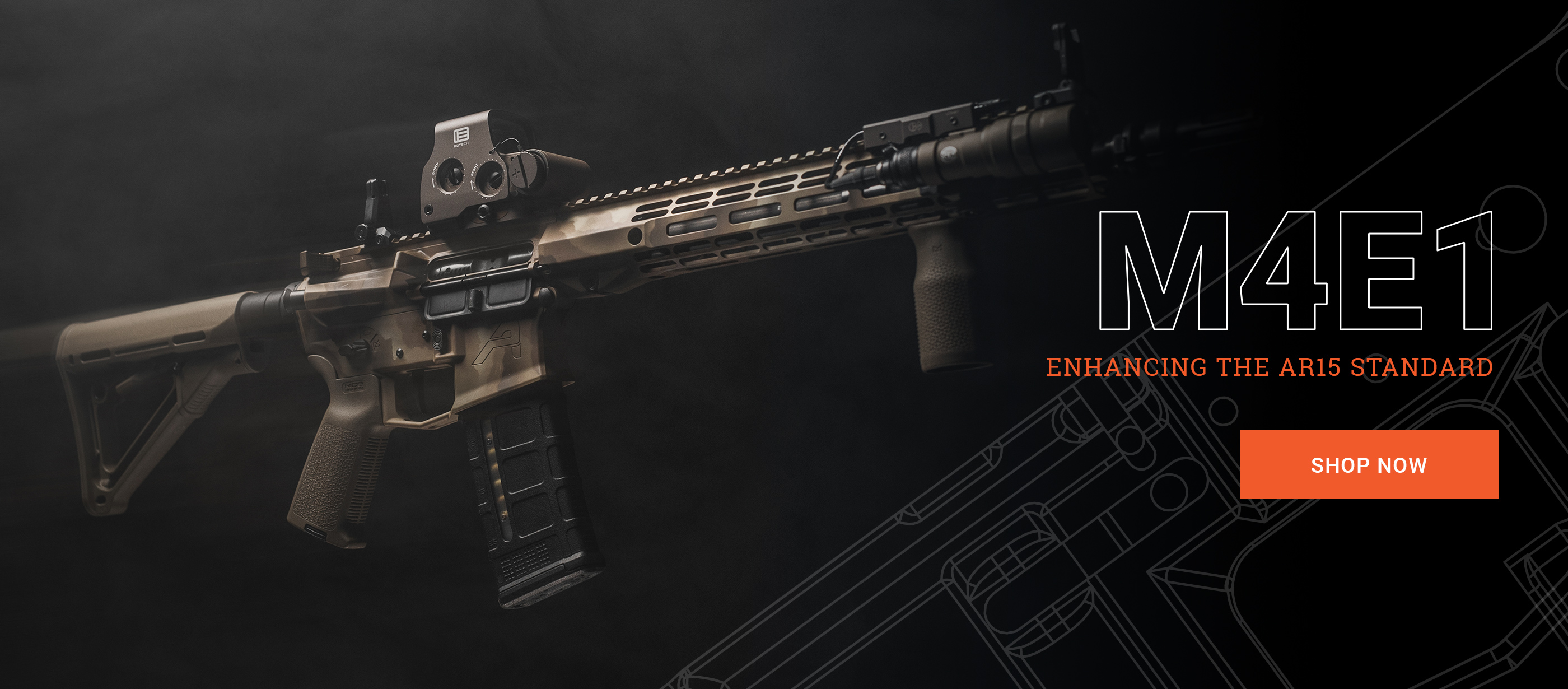 M4E1 Stripped Lowers