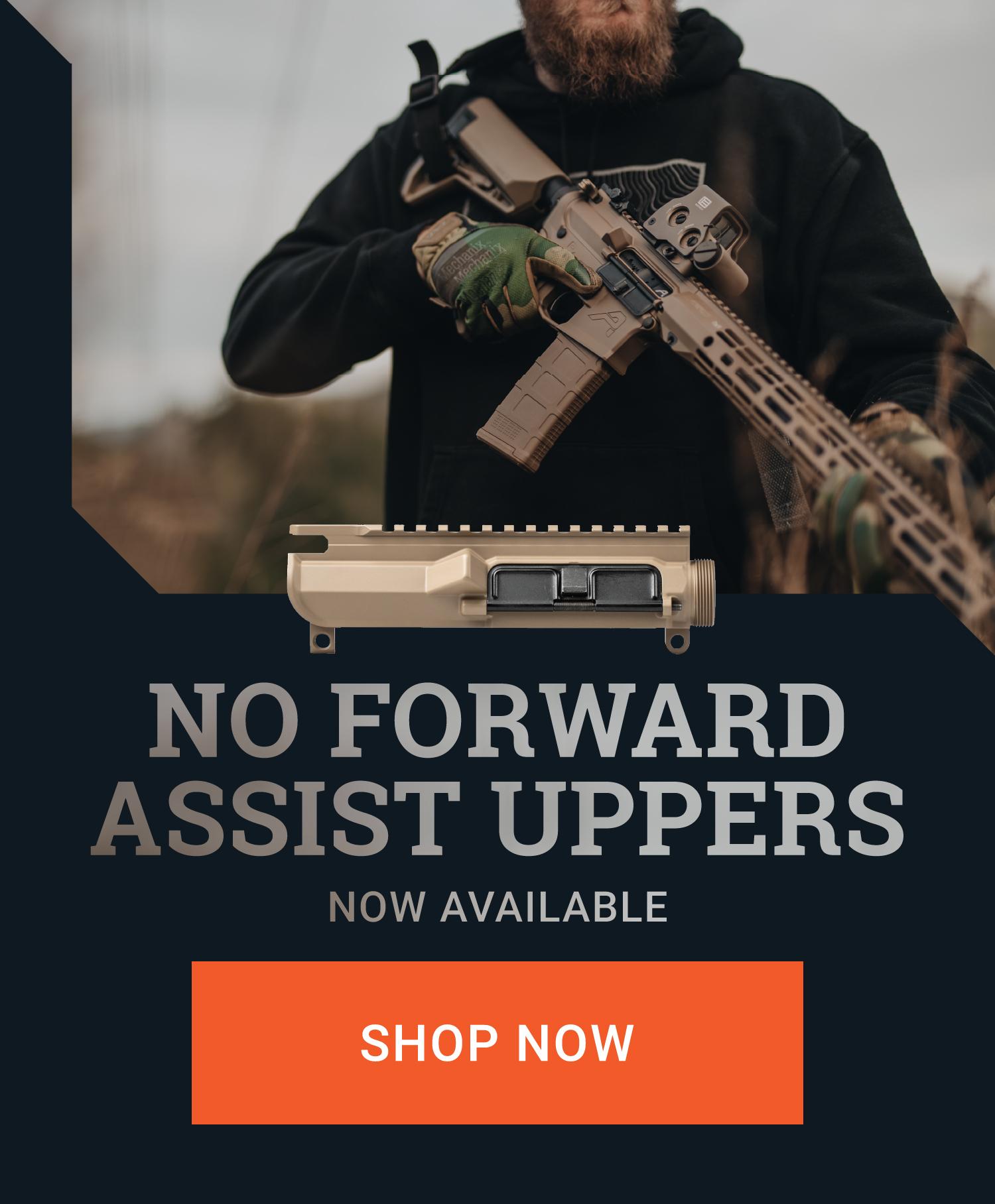No Forward Assist Uppers
